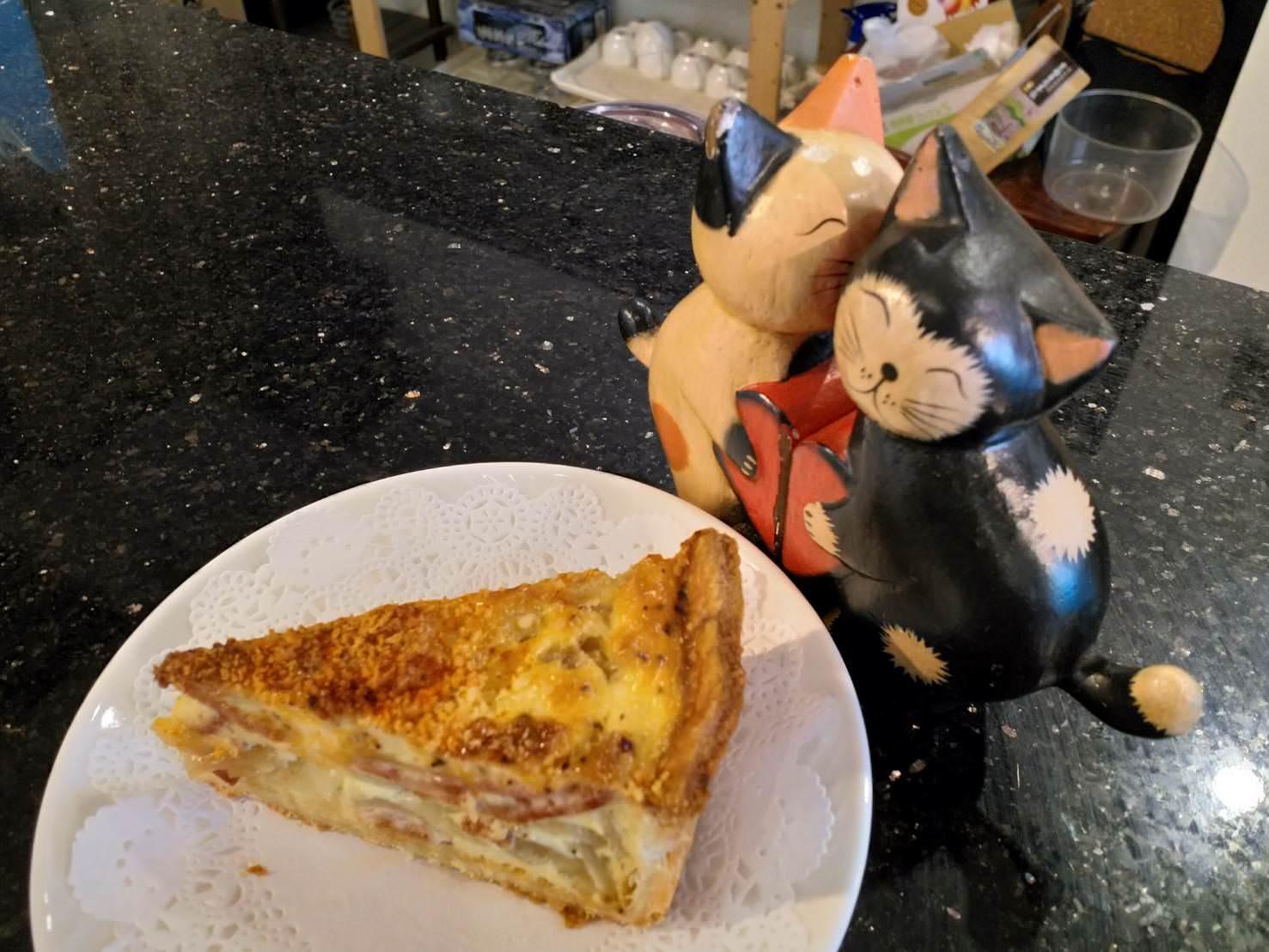 黑貓月亮咖啡館鹹派