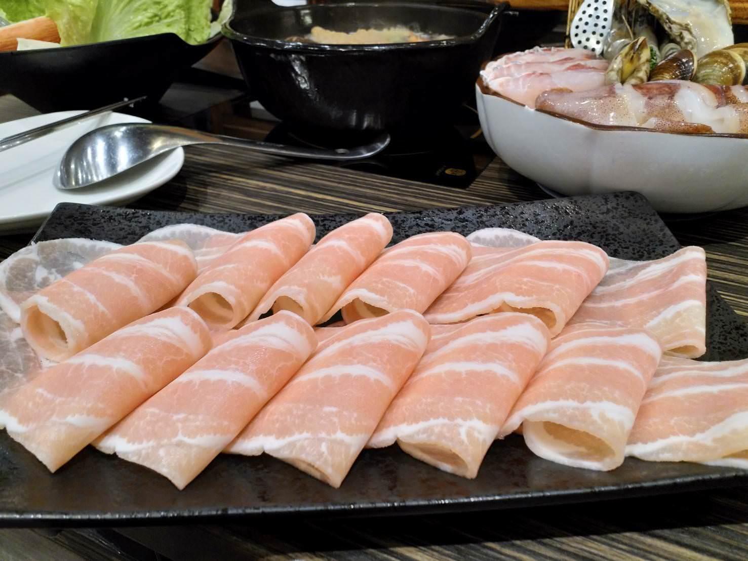 台灣松板豬肉盤